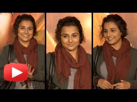 Vidya Balan Flaunts Her Durga Rani Singh Look At T