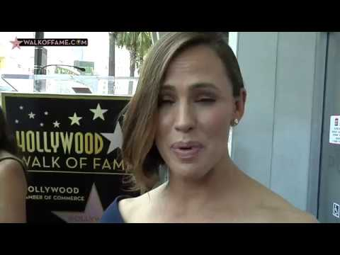 Jennifer Garner Walk of Fame Ceremony