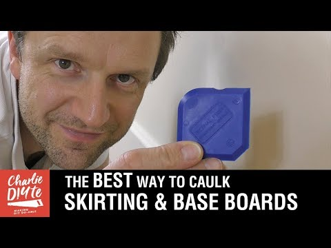 How to Caulk Skirting Boards & Base Boards