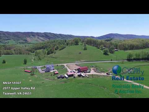Farm and Home for Sale in Thompson Valley | Tazewell Virginia Real Estate