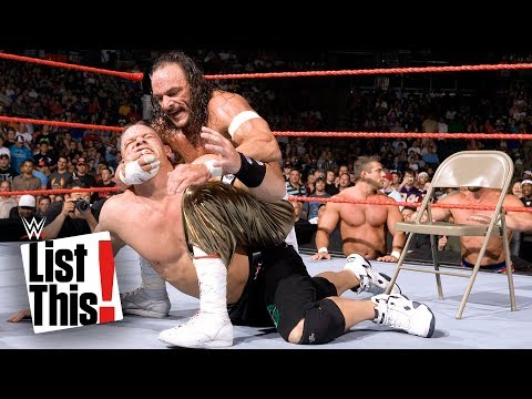 5 John Cena matches you won't believe happened: WWE List This!
