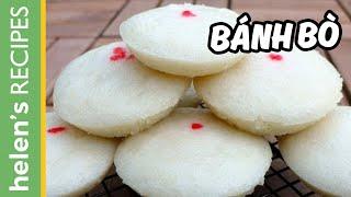 Bánh bò -Vietnamese steamed rice cake (Cow cake)