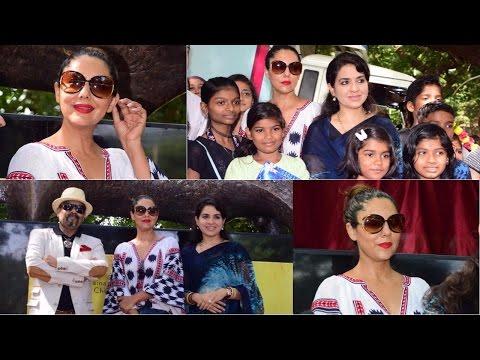 Inauguration Of Mumbai Beautification Project By Nana Chudasama With Gauri Khan