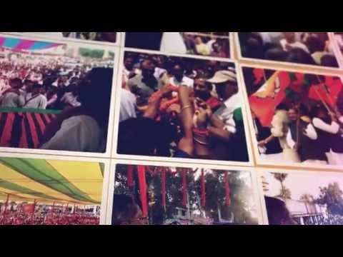 परिवर्तन पथ पर बढ़ रहा बिहार ---- Nand Kishore Yadav Campaigning during Bihar Elections