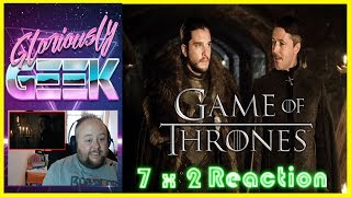 Gloriously Geek Reacts to episode 2 of season 7 Game of Thrones GAME OF THRONES  7 x 2 STORMBORN  REACTIONSUBSCRIBE HERE ► https://www.youtube.com/channel/UCPAckJ3dleAOCJcMG4qhPQg?sub_confirmation=1Follow my Instagram ► http://instagram.com/gloriouslygeekFollow me on Twitter ► https://twitter.com/gloriouslygeekLike me on Facebook ► https://www.facebook.com/gloriouslygeekVisit Mick's Mixology ► https://www.youtube.com/channel/UCjnnQc-Wkt3pcGsguoVoIPQ?sub_confirmation=1