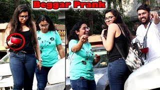 Beggar with a Twist Prank part 1 | Pranks in India 2018 | callme4 | Unglibaaz