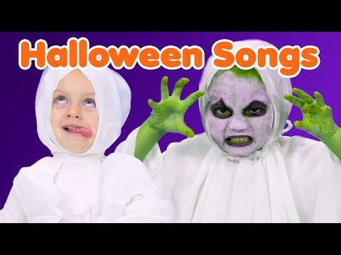 Download Halloween Songs for Kids | Finger Family Costumes | Halloween Compilation HD Video