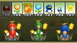 New Super Mario Bros Wii - All Power-Ups