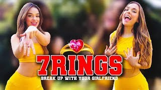 Ariana Grande - 7 RINGS COVER, Break Up With Your Girlfriend, I'm bored Cover Spanish, French,Basque
