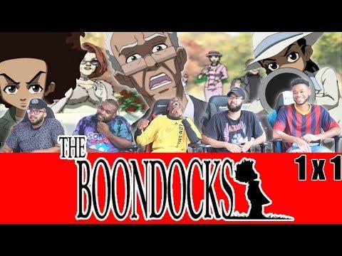 "The Boondocks 1 x 1 Reaction! ""The Garden Party"""