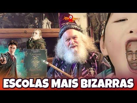 AS ESCOLAS MAIS BIZARRAS DO MUNDO