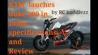8. KTM  Launches Duke 690 R in INDIA In 2018 Specifications and Review