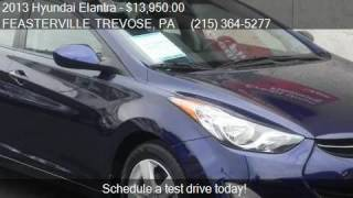Trevose (PA) United States  City pictures : 2013 Hyundai Elantra GLS 4dr Sedan 6A w/Alloy Wheels (US) fo