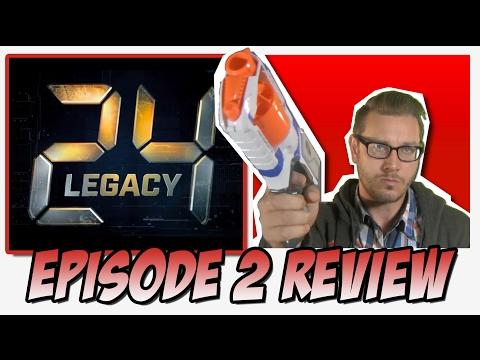 "24: Legacy Review & Reaction ""1:00 PM - 2:00 PM"""