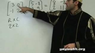 Algebra 2 - Intro To Matrices