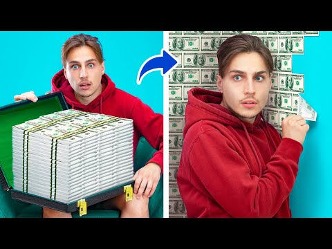 8 Maneiras Divertidas de Esconder seu Dinheiro