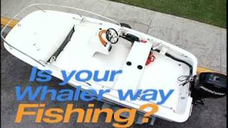 10. Customize a new Boston Whaler 130 and 150 Super Sport