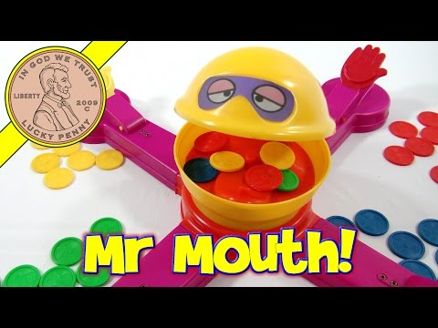 Mr. Mouth Classic Family Game #7010, 1976 Tomy Toys