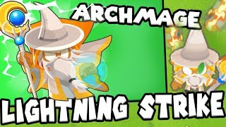 Bloons TD 6 - ArchMage Lightning - Tier 5 Wizard Monkey | JeromeASF