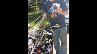 10. 2008 softail custom Harley Davidson