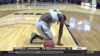 Ben Bentil Beats URI at the Buzzer
