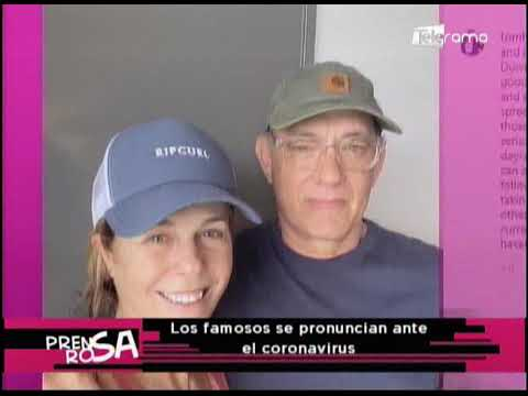 Los famosos se pronuncian ante el coronavirus
