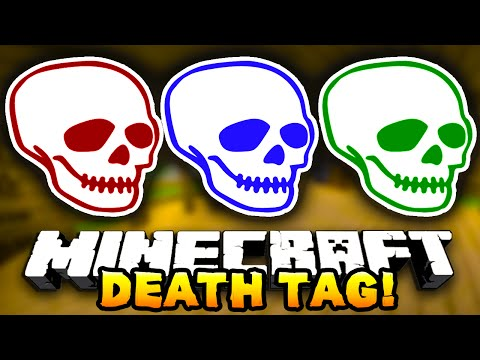Minecraft DEATH TAG! #4 (Funny Mini-Game!) – w/ Preston, JeromeASF & Choco
