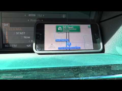 turn by turn gps - Hello, today I want to show you the new turn by turn navigation of the iphone's IOS 6 in action. I have a good chance to take this video while going to Disne...