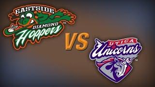 USPBL-Eastside Diamond Hoppers vs. Utica Unicorns