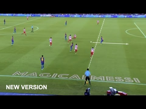 Lionel Messi - The 15 Smartest Skills Without Touching the Ball - HD