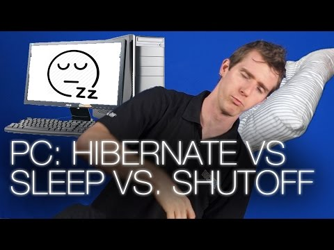 , title : 'Should you Hibernate, Shut down, or put your PC to sleep?'