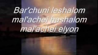 SHALOM ALEICHEM with Lyrics by Susana Allen - YouTube