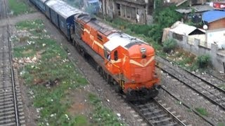 Dibrugarh India  city photos : India's Longest Train Route from Dibrugarh Town - Vivek Express