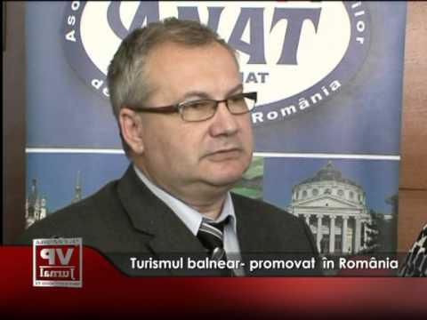 Turismul balnear- promovat  în Romania