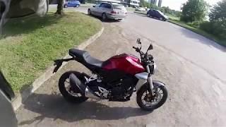10. Unexpected Honda CB300R test-ride