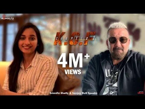 Sanjay Dutt & Srinidhi Shetty Speaks on KGF Chapter 2 Teaser