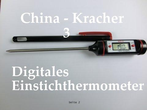 China-Kracher! - 3 - Digitales Einstichthermometer / Kochthermometer