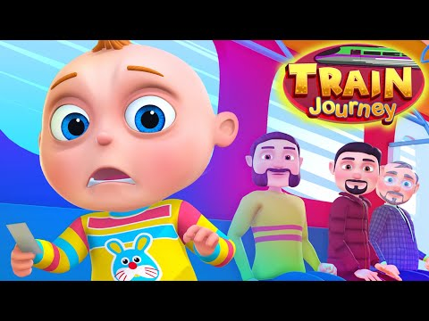 TooToo Boy - Train Journey Episode | Kids Shows | Cartoon Animation | Funny Comedy Series