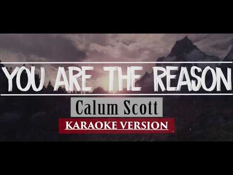 Calum Scott-You Are The Reason Karaoke Versions