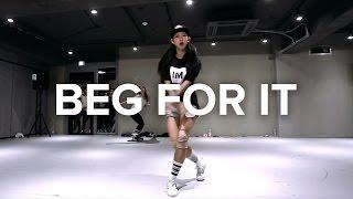 Mina Myoung Choreography / Beg For It- Iggy Azalea (feat MØ) - YouTube
