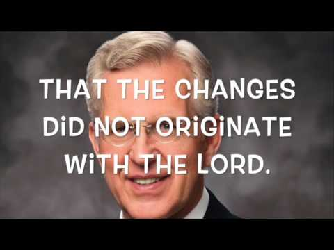 The Authentic Church of Jesus Christ | Same-Sex Marriage and Policy (Part I)