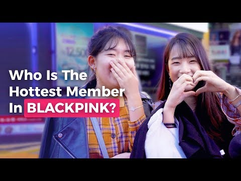 Who Is The Hottest Member In BLACKPINK? | Koreans Answer On The Street | Koreaboo Studios