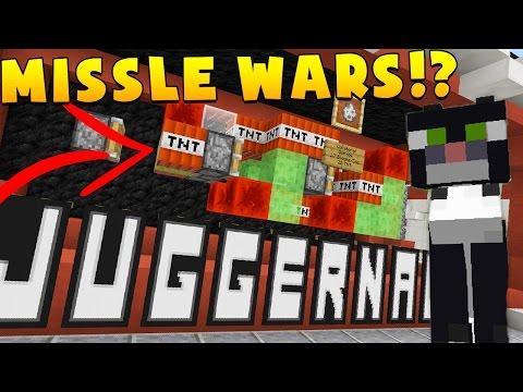 Minecraft JUGGERNAUT MISSILE WARS 2vs2 - EXPLOSIVE MINIGAME