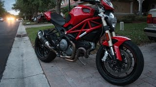 6. 2012 Ducati Monster 1100 EVO first week ownership review !!!