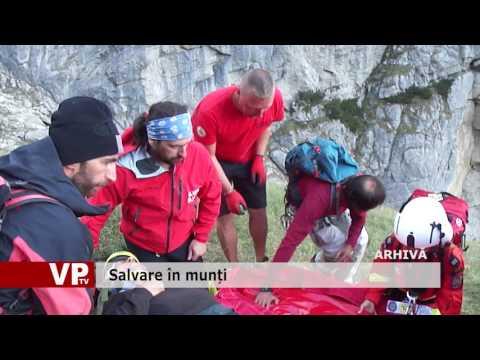 Salvare în munți