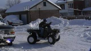 4. Polaris Magnum 330 In Snow