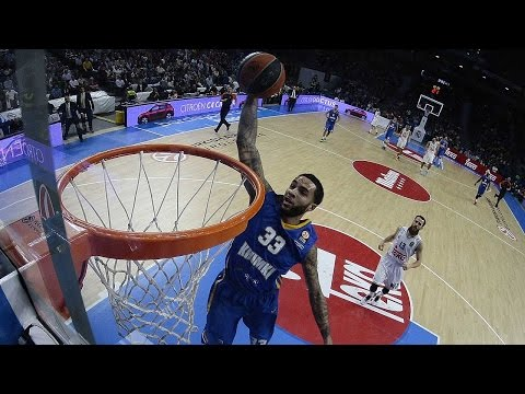 Video Replay: Tyler Honeycutt of Khimki Moscow Region