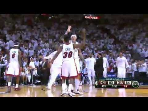 nba - http://www.nbacircle.com Subscribe and Get Free NBA Jerseys Round 2 Game 5: Chicago Bulls 91-94 Miami Heat Highlights Miami Heat Win Series 4-1 Wednesday, Ma...