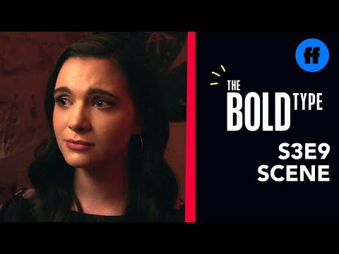 The Bold Type Season 3, Episode 9   Pinstripe Confesses to Jane   Freeform