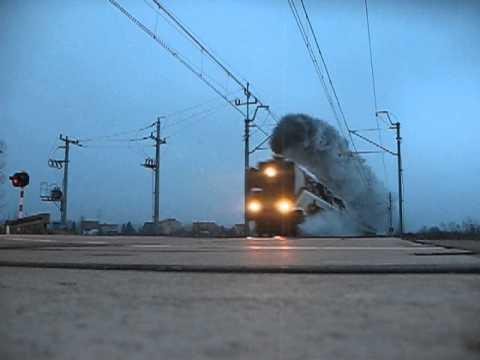 ŚRODA ŚLĄSKA. Niemiecka lokomotywa DR 18 201